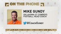 The Jim Rome Show: Mike Gundy talks mullet