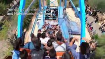 Yemeni children enjoy carnival rides in celebration of Eid al-Adha