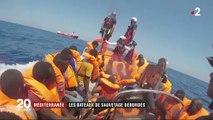 Migrants : les bateaux de sauvetage sont débordés