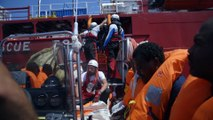 356 personnes rescapées secourues par MSF et SOS MEDITERRANEE