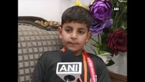 Asian Karate Championship -  6-Year-Old Kashmiri Boy Clinches Gold