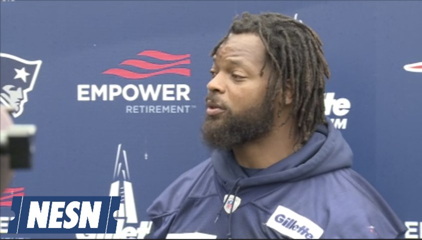 Michael Bennett Talks Life With Tom Brady