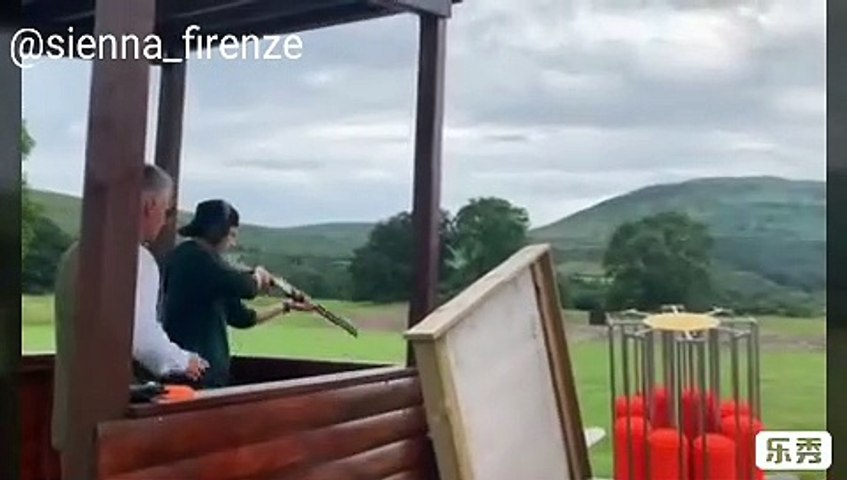 Tom Holland Learned to Shoot and Plying Golf