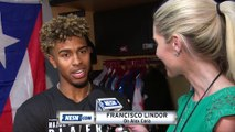 "Francisco Lindor on Alex Cora: ""He's like a big brother, I love him"""