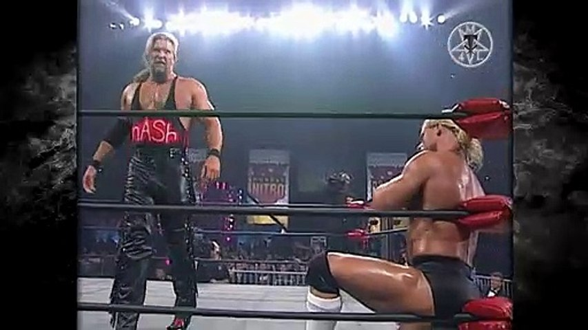 The Sting Crow Era Vol. 83   Sting & The Giant Save Lex Luger From The nWo Wolfpac! 5/4/98