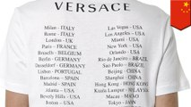 Versace apologizes over t-shirt that triggered thin-skinned China