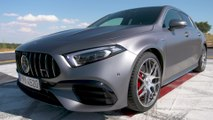 Mercedes-AMG A 45 S 4MATIC+ Design in Mountain gray
