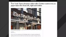 New York Times Demotes Editor Jonathan Weisman After Controversial Tweets