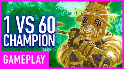 Apex Legends - 1 VS 60 Solo Match Champion