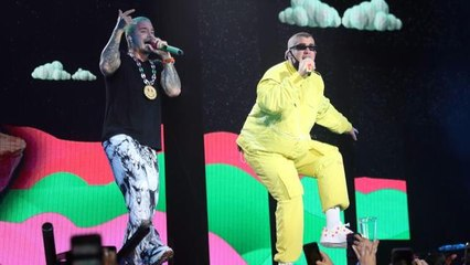 Watch J Balvin, Bad Bunny, Ozuna, Sech and Natti Natasha Take Over UForia Latino Mix Live