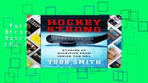 Stories of Sacrifice from Inside the NHL Hockey Strong
