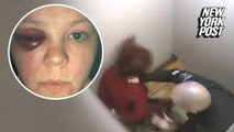 Cop fired for brutally punching handcuffed woman