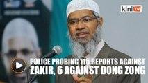 Police open probe against Zakir Naik, Dong Zong