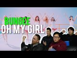 """OH MY GIRL """"BUNGEE"""" to literally FALL IN LOVE (MV Reaction)"""