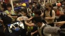 Nuevos disturbios en el aeropuerto internacional de Hong Kong