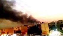 Blast strikes military base in Iraq's Baghdad