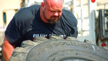 The Strongest Man in History: Tire Flip Challenge