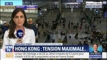 À Hong Kong, des habitants condamnent le blocage de l'aéroport et les violences de mardi