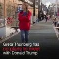 """Greta Thunberg, jeune égérie de la lutte contre le réchauffement climatique, ne rencontrera pas Donald Trump aux Etats-Unis: """"Une perte de temps"""" - VIDEO"""