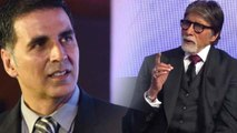 Amitabh Bachchan reacts on Akshay Kumar's statement about charity; Watch Video | FilmiBeat
