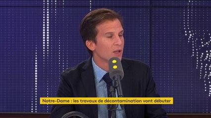 """Notre-Dame : """"L'émotion l'a emporté sur la raison"""" pour Gaspard Gantzer"""