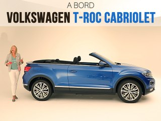 A bord du Volkswagen T-Roc Cabriolet (2019)