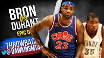 LeBron James vs Kevin Durant EPiC Duel 2010.01.23 - KD With 34, CLUTCH LBJ With 37, 12 Asts!