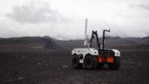 La NASA entraîne le robot qui ira sur Mars dans des champs de lave en Islande