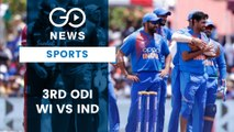 West Indies Vs India Third ODI