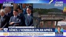 Effondrement du pont Morandi à Gênes: les commémorations ont commencé