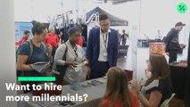 La respuesta para contratar a más mileniales