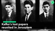 Documentos perdidos de Kafka presentados en Jerusalén