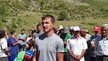 Protestë në Skrapar kundër HEC-it, banorët: Projekti na lë pa ujë