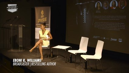 Eboni K Williams Hosts The Vocal Black Athlete Panel featuring Cappie Pondexter and Brian Banks