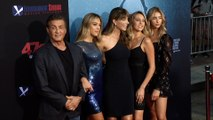 """Sylvester Stallone's Family """"47 Meters Down: Uncaged"""" Premiere Red Carpet"""