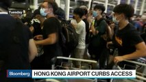 Hong Kong Airport Curbs Access