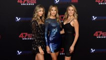 """Scarlet, Sistine and Sophia Stallone """"47 Meters Down: Uncaged"""" Premiere Red Carpet"""