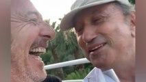 Michel Drucker et Jean-Luc Reichmann alcoolisés en Corse amusent les internautes !
