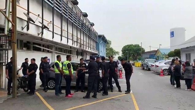 Media personnel await word on Nora Quoirin post-mortem