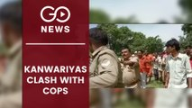 Kanwariyas Clash With UP Cops