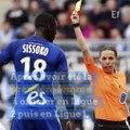 Encore une première pour Stéphanie Frappart, l'arbitre française de foot