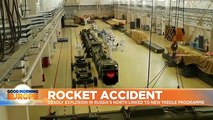 Washington links rocket accident to secretive Russian missile programme