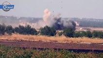 متداول: تدمير دبابة وعربة ناقلة للجنود تابعة لميليشيا اسد على محور سكيك في ريف  إدلب الجنوبي