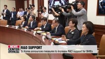 S. Korea announces measures to increase R&D support for SMEs