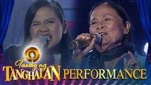 Donnalyn Capangpangan vs. Violeta Bayawa | Tawag ng Tanghalan