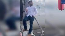 Guy is only passenger on Delta flight