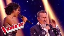 J'oublierai ton nom - Johnny Hallyday | Lucie et Florent Pagny | The Voice France 2017 | Live