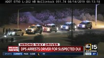 Wrong-way driver stopped on I-10 near Pecos Road
