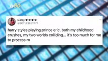 Harry Styles Turns Down Role  Playing Prince Eric  in 'The Little Mermaid' And Causes Twitter Hysteria