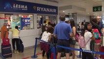 Los TCP de Ryanair en España convocan huelga en septiembre